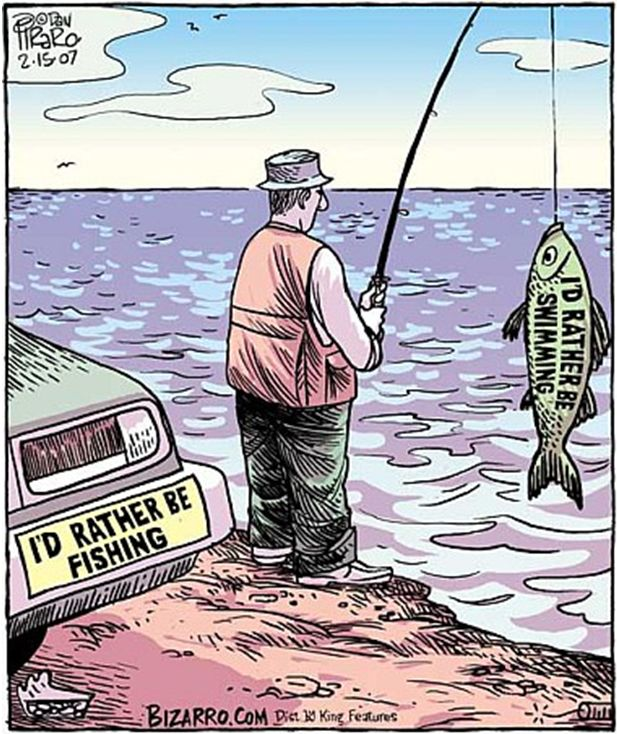 Bizarro Comic (by Dan Piraro)