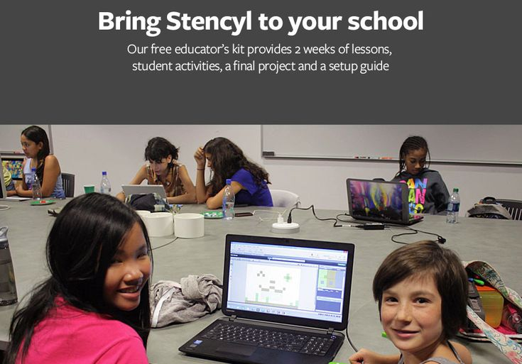 Download our Educator's Kit - Consists of a setup guide, 6 lessons, an optional final project and accompanying student activities.