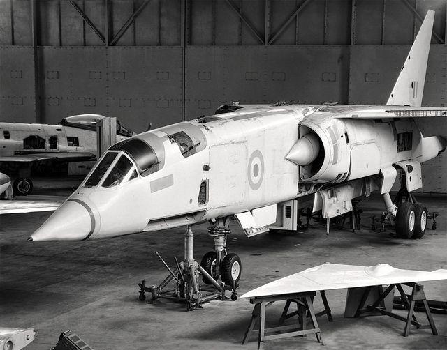 TSR 2. XR222. Cranfield May 1966.