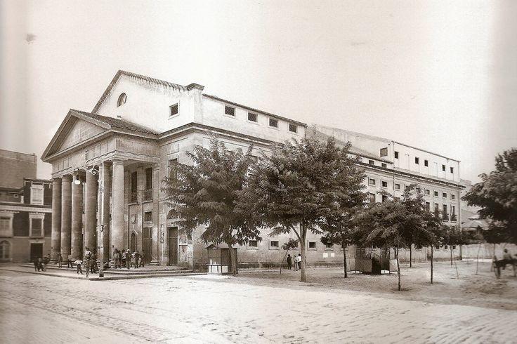 Teatro Principal, en 1915