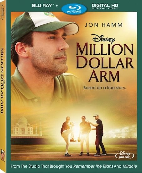 """Million Dollar Arm"" Available on Blu-ray October 7, 2014"