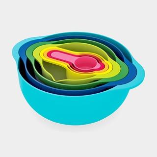 MoMA Store: Ben Cox, Mixing Bowls, Nesting Bowls, Moma Stores, Mixed Bowls, Nests Bowls, Measuring Cups, Bill Hold, Kitchens Tools