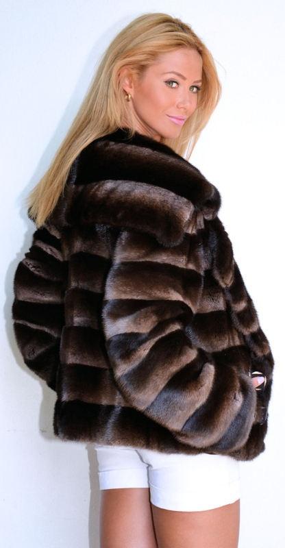 245 best Fur jacket images on Pinterest