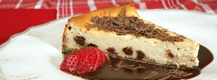 Nick Stellino - Ricotta Cheesecake with Coffee & Chocolate