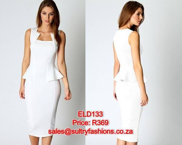 ELD133 - PRICE: R369  AVAILABLE SIZES: M/L (Size 10-12/34 -36) To order, email: sales@sultryfashions.co.za
