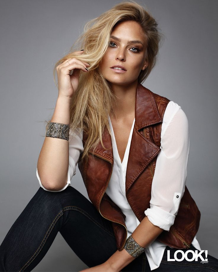 Bar Refaeli looks stunning in the new @Sears Canada #NevadaLine! I love this look and just got the vest - stay tuned!