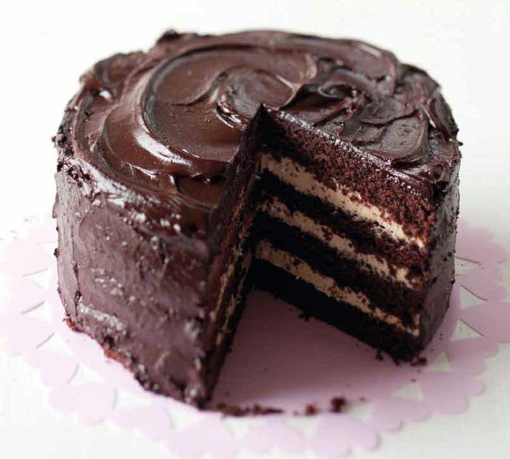 Čokoládovo-kávový dort (www.albert.cz/recepty)
