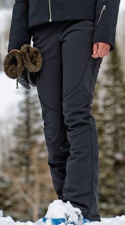 Spyder softshell ski trousers