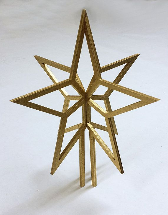Extra Large Christmas Tree Star. All Colors. by ThatStencilLaser