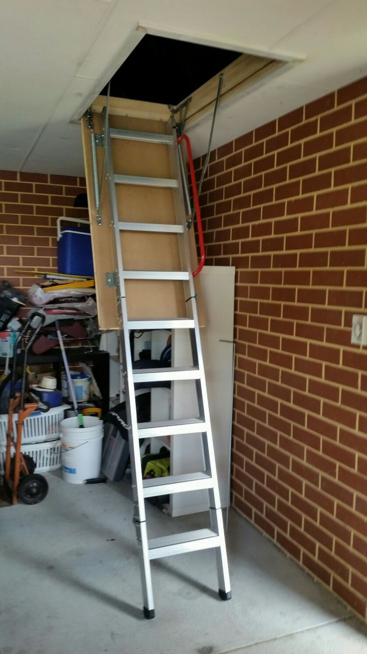 Garage Attic Stairs Storage Perth Ladder Ladders