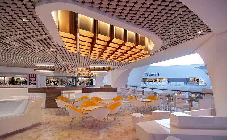 Pallasades foodcourt projects hoare lea lighting for Design consultancy
