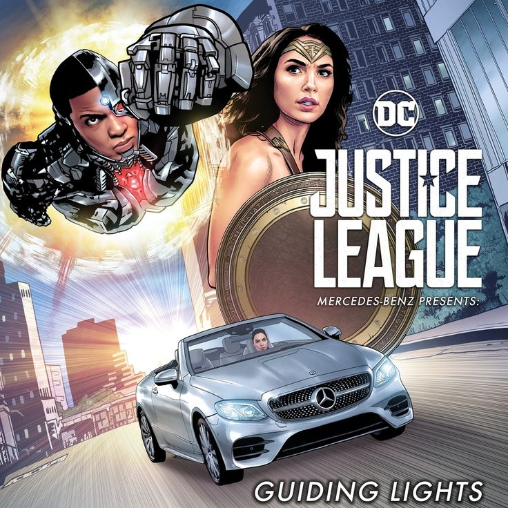 Justice League Mercedes Benz comics reference for drawing realistically Diana Prince must help a woman in labor get to the hospital in time. But she can't do it without Victor Stone. Can the two heroes actually work together to save the day? #DCComics #JusticeLeague #MercedesBenz #EClass #Cabriolet #Cyborg #WonderWoman