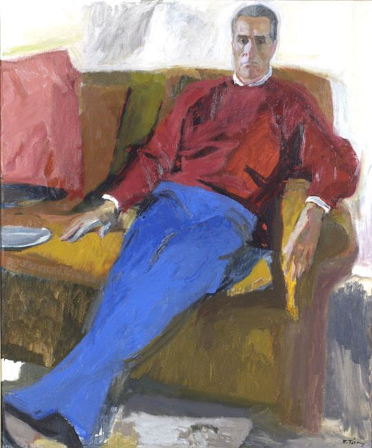 'Portrait of A.K', 1998 by Panayiotis Tetsis