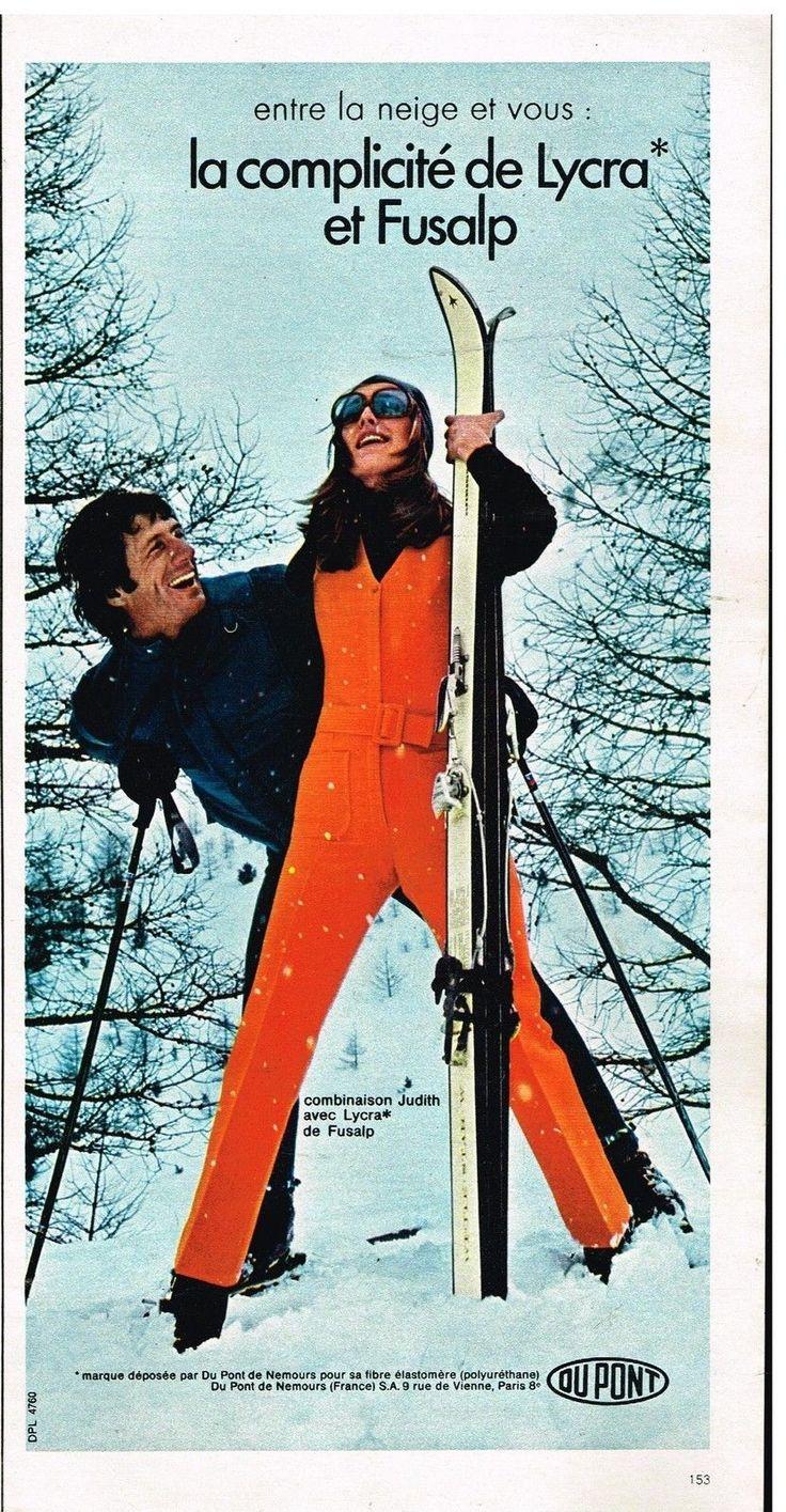 Publicité Advertising 1970 Les Vêtements De Ski Fusalp