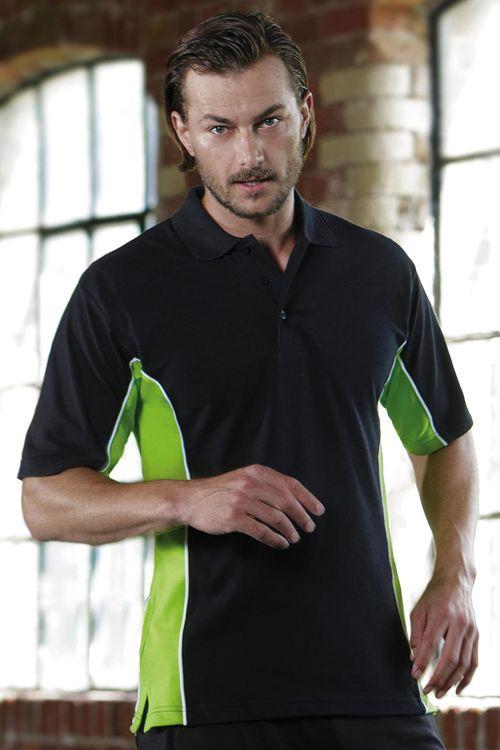 Tricou polo de bărbați Track Gamegear  din 65% poliester și 35% bumbac pique #tricouri #polo #sport #personalizate