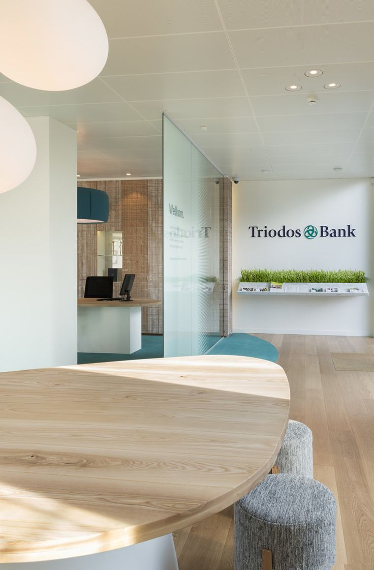 Pinkeye designstudio #pinkeyedesign | Triodos Bank Brussels