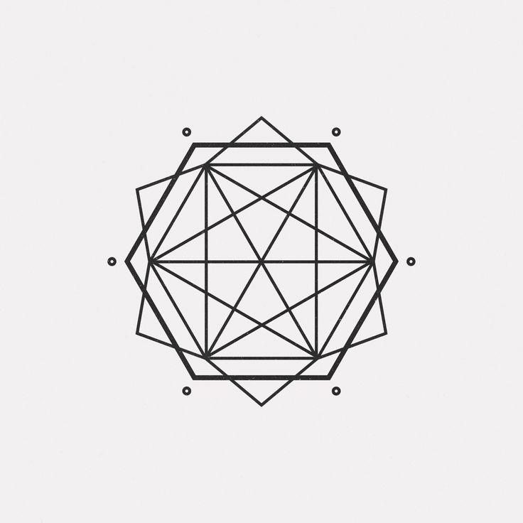"dailyminimal: "" #OC16-728 A new geometric design every day """