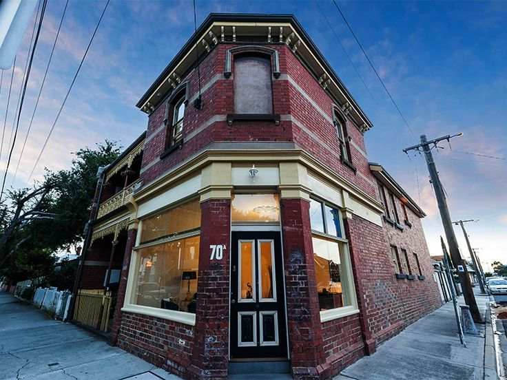 70a Victoria Street. Commanding a prominent corner site, this solid brick Victorian terrace (Circa 1899) was once a significant Footscray local icon and for 90 years it was owned by the Cashmore family over three generations. #Footscray