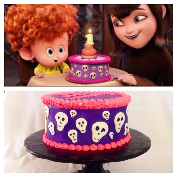 Hotel Transylvania 2 look alike cake                                                                                                                                                      More