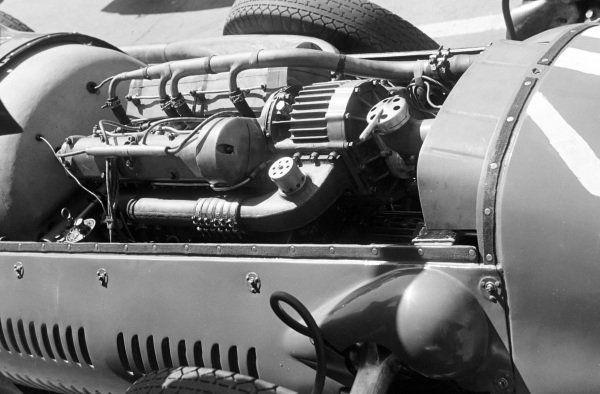 The engine of a Maserati 4CLT/48.【2020】