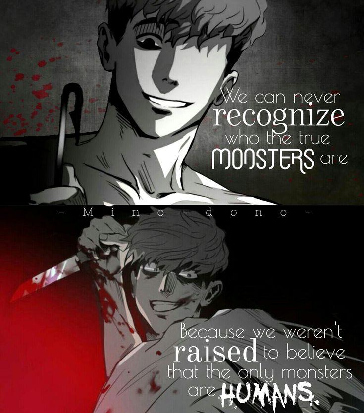 anime quotes deep: Killing Stalking