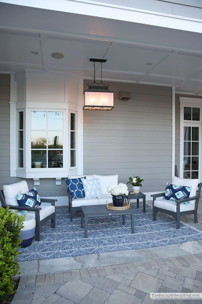 New Back Porch Furniture Porch Furniture Outdoor Rooms Back Porch