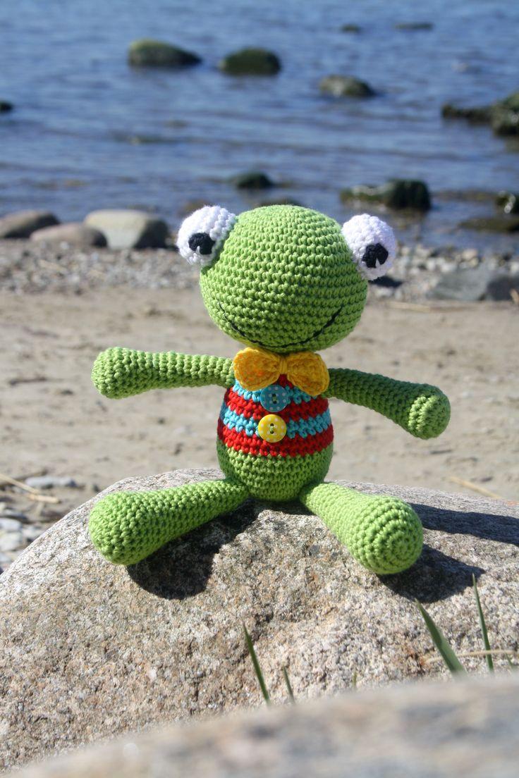 Felix the Frog – free amigurumi pattern in Dutch | lilleliis