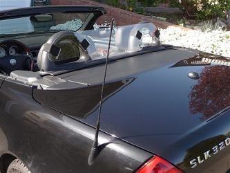 Mercedes SLK 200 #Windscreen, #Windblocker, #Winddeflector by Windblox www.windblox.com/