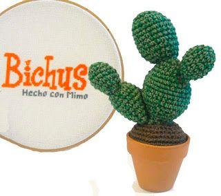 Patrón Gratis - Cactus Amigurumi