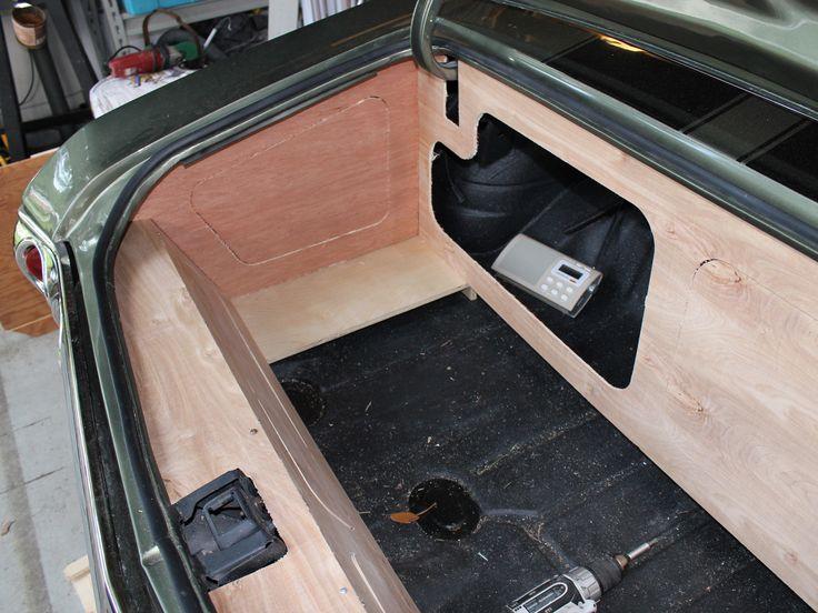 1971 chevelle alien enclosures trunk install custom walled off panels car audio custom. Black Bedroom Furniture Sets. Home Design Ideas
