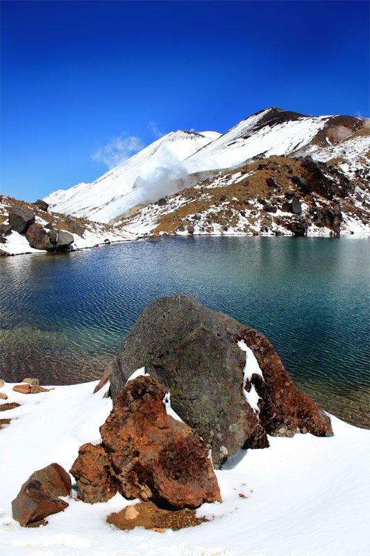 The Tongariro Crossing (Mordoor Lands), Central Plateau, New Zealand #hiking #walking #newzealand
