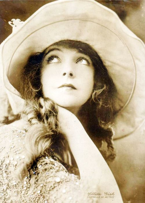 Lillian Gish, 1920's.  Lillian Diana Gish was an American stage, screen and television actress, director and writer whose film acting career spanned 75 years, from 1912 to 1987.