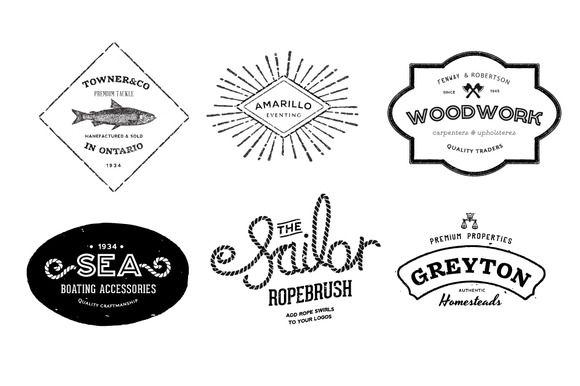15 vintage logo builder kit to make your own vintage logos 15 vintage logo builder kit to make your own vintage logos with 14 free logo templates logos pinterest logo builder free logo templates and free pronofoot35fo Image collections