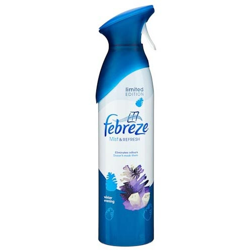 Febreze Air Care Spring 400 ml - Mist & Refresh is a new aerosol air freshener which, unlike other air fresheners, combines odour removal with a light fragrance to truly refresh your home.