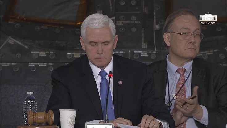 Vice President Pence Leads the Second Meeting of the National Space Council