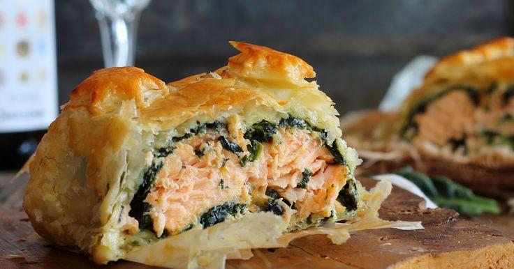 Encuentro que estas recetas que se hacen al horno son ideales cuando tienes invitados, lo dejas todo preparado e incluso mientras haces el ...