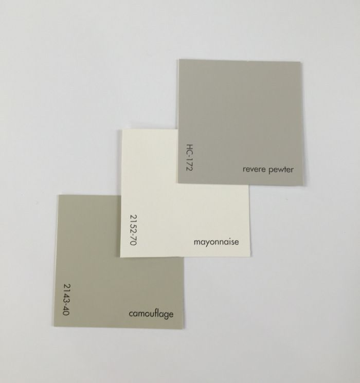 Benjamin Moore Neutral Color Schemes