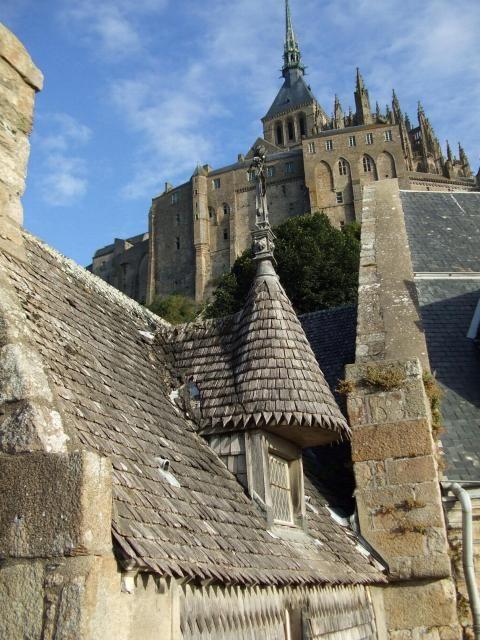 La Maison de l'Artichaut, if I am not mistaken.  Le Mont St. Michel
