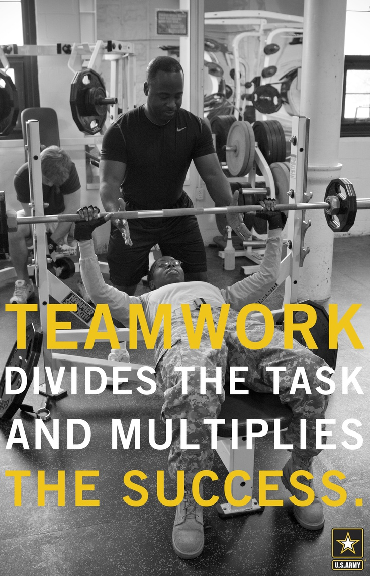 teamwork in the army A clear definition of teamwork will vary from leader to leader, but there are three basic foundational principles that can be used to further define teams.