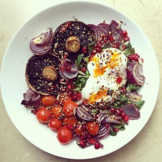 Healthy food = colourful food. | 13 Little Things We Can All Learn From Clean Eating Alice
