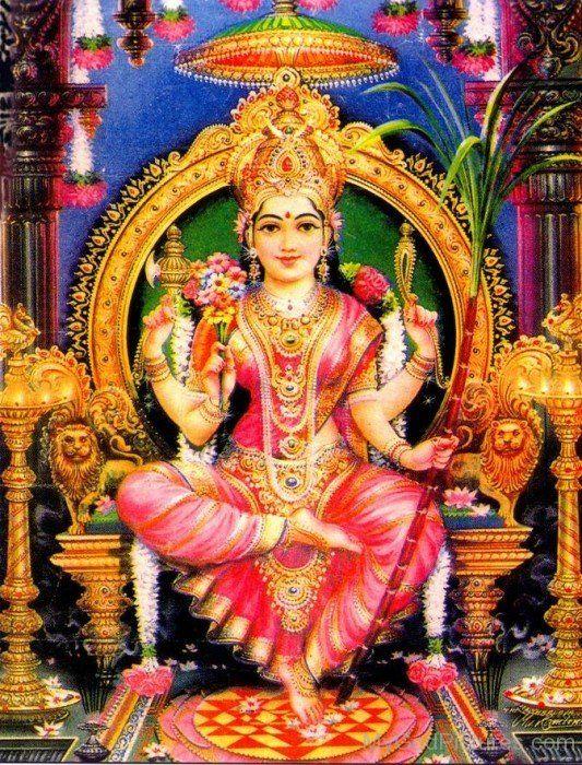 Shakti Goddess Lalita