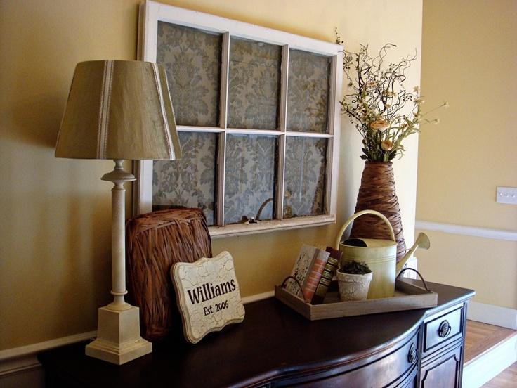 Another Creative Idea For An Old Barn Window