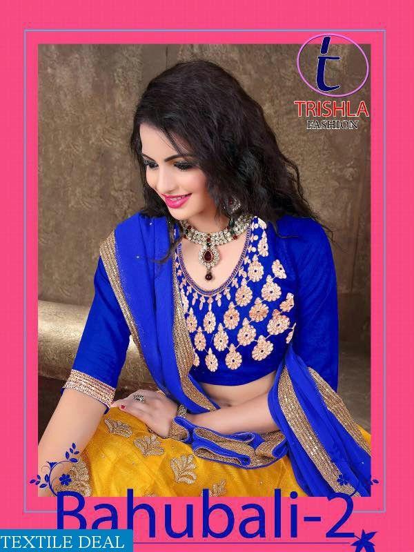 Shop Now Trishla #Bahubali2 Vol - 2 Indian Ethnic Lehenga Choli Catalog Collection #TextileDeal #LehengaCholi #WomensFashion