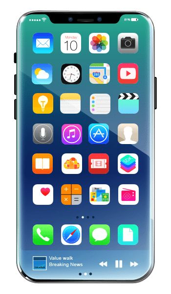 ValueWalk has produced an iPhone 8 concept design which provides an insight into the way that the Apple flagship may turn out.