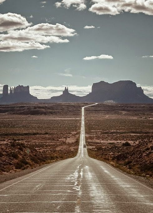 Monument Valley, Tribal Park, Arizona. I've been down this road a few times ......