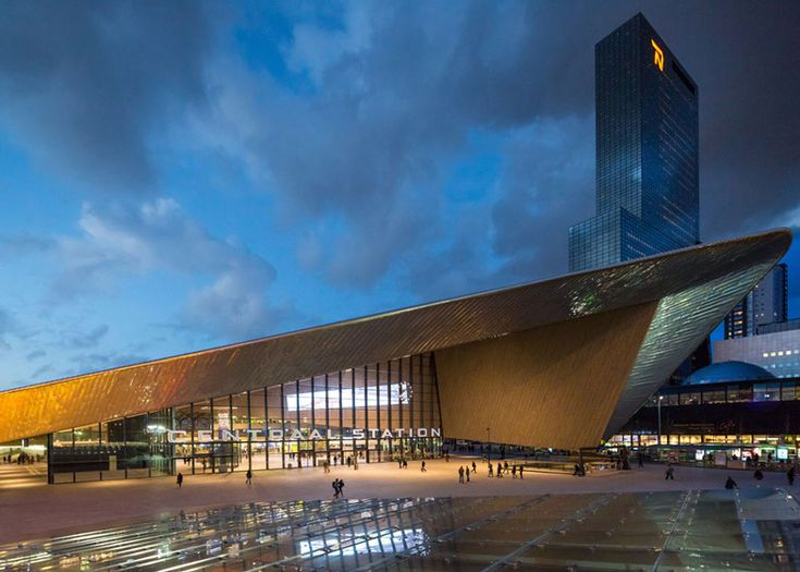 Rotterdam Centraal station (by Benthem Crouwel). #architecture #centralstation