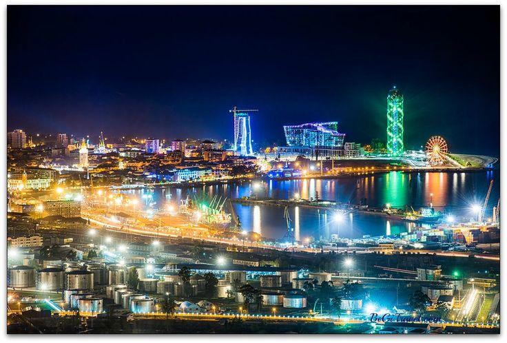 Sightseeing Adjara, Batumi, Night, Достопримечательности Аджария, Батуми, Ночь, აჭარის ღირშესანიშნაობები, ბათუმი, ღამე begitravel.com