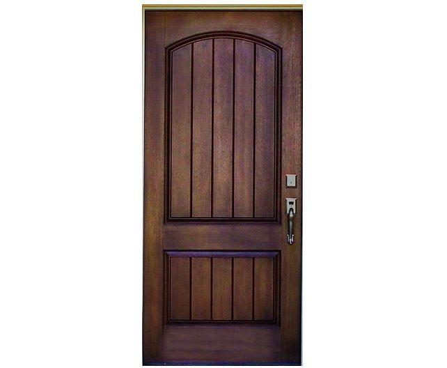 Rustic Main Entry Door Design Pid020 - Solid Wood Entry Doors - Door Designs - Product Design