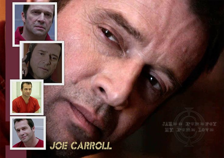 JAMES PUREFOY as Joe Carroll!!! OMG!!! OMG!!! OMG!!!