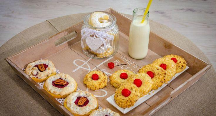 Bake Off - Ale ciacho! - Rogaliki migdałowe i kruche ciasteczka Małgosi
